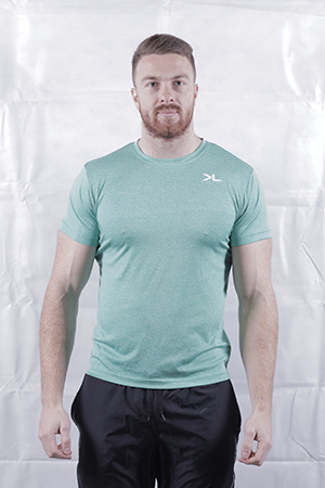 Men's Mint Green Performance T-Shirt