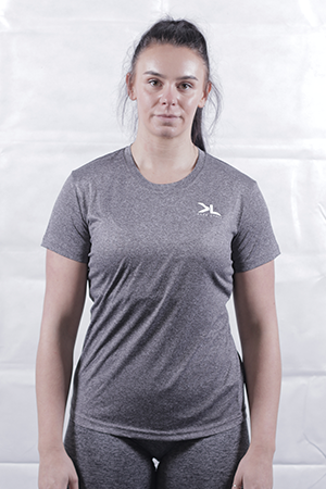 Women's Charcoal Performance T-Shirt
