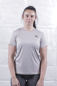 Women's Platinum Grey Performance T-Shirt