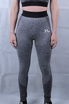 Women's Charcoal Seamless Leggings