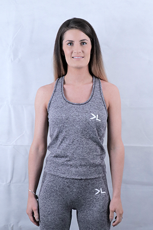 Women's Charcoal Seamless Vest