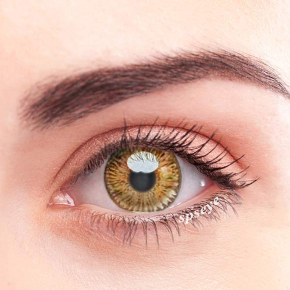 SPSeye Blossom Brown Colored Contact Lenses