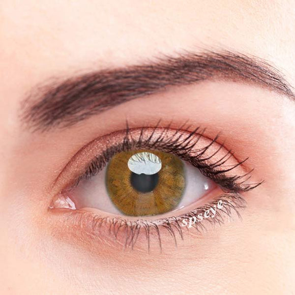 SPSeye Brown Daisy Colored Contact Lenses