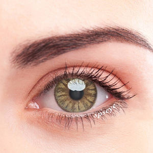 SPSeye Crystal Brown Colored Contact Lenses