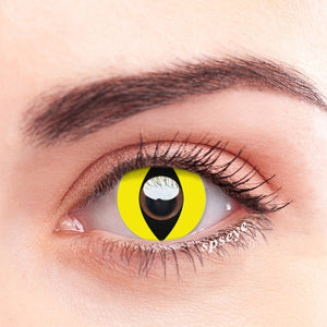 SPSeye Reptile Yellow Colored Contact Lenses