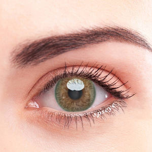 SPSeye Vesta Green Colored Contact Lenses