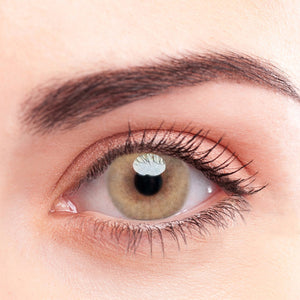 SPSeye Radial Light Brown Colored Contact Lenses