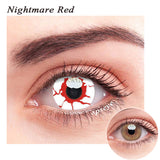 SPSeye Nightmare Red Colored Contact Lenses