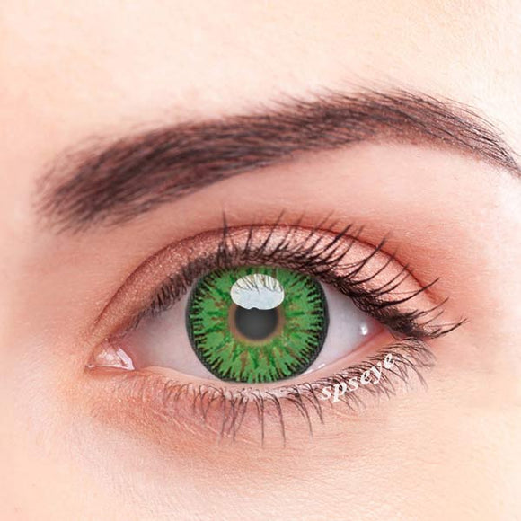 SPSeye Charms Green Colored Contact Lenses