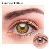 SPSeye Charms Yellow Colored Contact Lenses