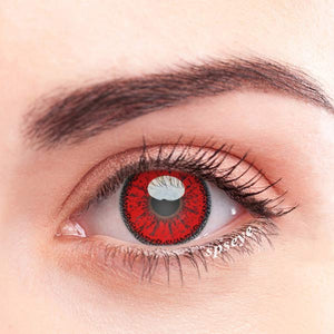 SPSeye Ethereal Red Colored Contact Lenses