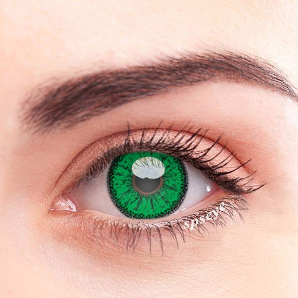 SPSeye Ethereal Green Colored Contact Lenses