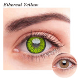 SPSeye Ethereal Yellow Colored Contact Lenses
