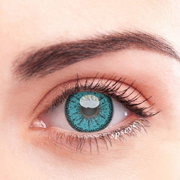 SPSeye Ethereal Blue Colored Contact Lenses