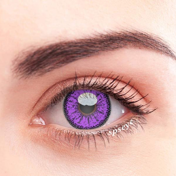 SPSeye Ethereal Purple Colored Contact Lenses