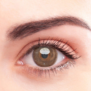 SPSeye Sago Brown Colored Contact Lenses