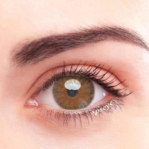 SPSeye Macabeo Brown Colored Contact Lenses