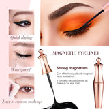 M5 Magnetic Liquid Eyeliners & Magnetic False Lashes & Applicator Set 5 In 1