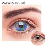 SPSeye Pearly Tears Pink Colored Contact Lenses