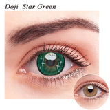 SPSeye Doji Star Green Colored Contact Lenses