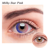 SPSeye Milky Star Pink Colored Contact Lenses