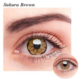 SPSeye Sakura Brown Colored Contact Lenses