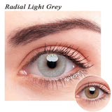 SPSeye Radial Light Grey Colored Contact Lenses