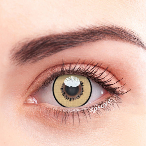SPSeye Fairy Brown Colored Contact Lenses