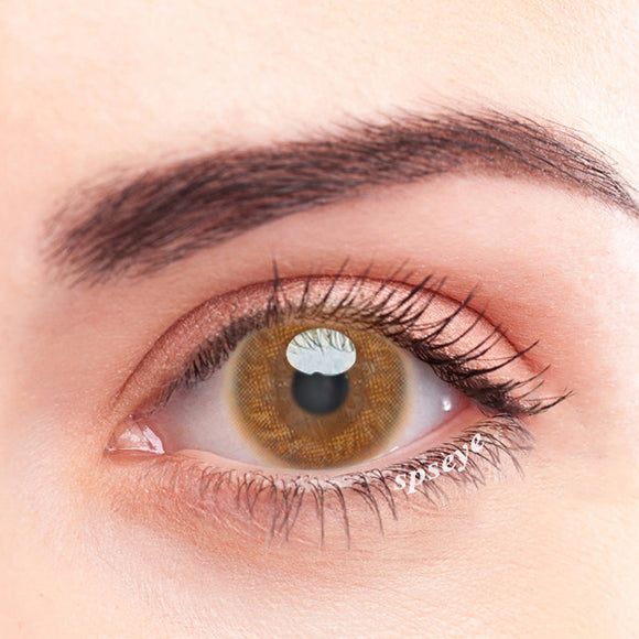 SPSeye Mousse Brown Colored Contact Lenses
