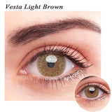 SPSeye Vesta Light Brown Colored Contact Lenses
