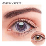 SPSeye Ananas Purple Colored Contact Lenses