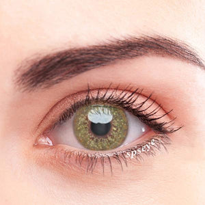 SPSeye Baby's Breath Green Colored Contact Lenses