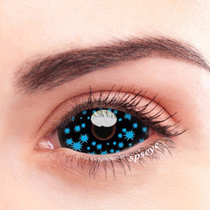 SPSeye Biolumine Blue Colored Contact Lenses