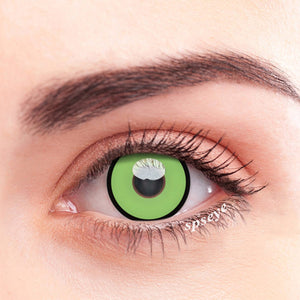 SPSeye Black Circle Green Colored Contact Lenses