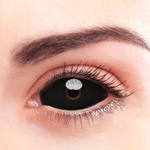 SPSeye Black Sclera Pupil Colored Contact Lenses