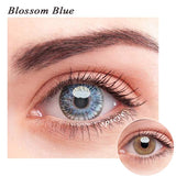 SPSeye Blossom Blue Colored Contact Lenses