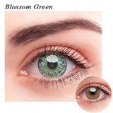 SPSeye Blossom Green Colored Contact Lenses