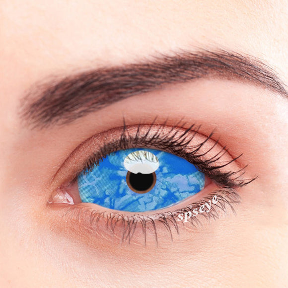 SPSeye Blue Sea Spray Colored Contact Lenses