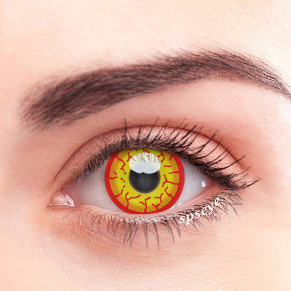 SPSeye Burning Flame Colored Contact Lenses