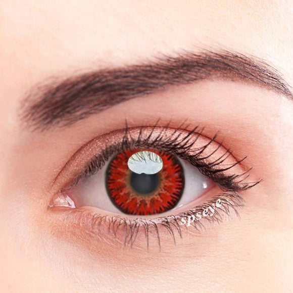 SPSeye Charms Red Colored Contact Lenses