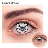 SPSeye Crack White Colored Contact Lenses