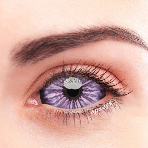 SPSeye Crape Purple Colored Contact Lenses