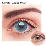 SPSeye Crystal Light Blue Colored Contact Lenses