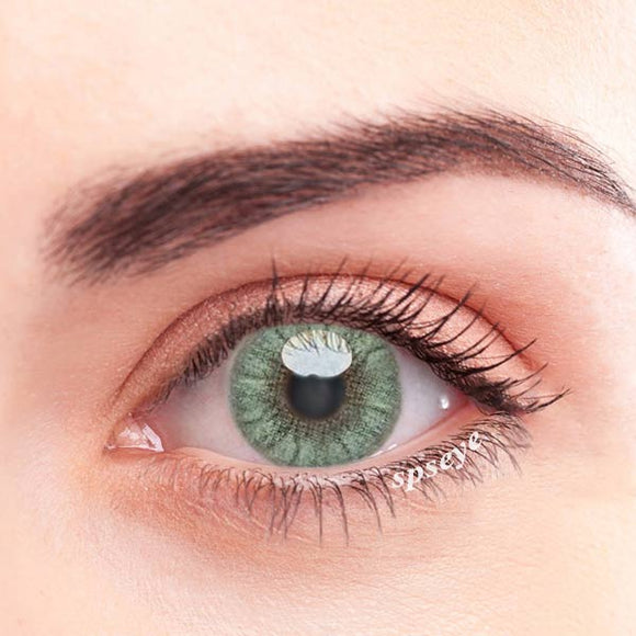 SPSeye Crystal Light Yellow-Green Colored Contact Lenses