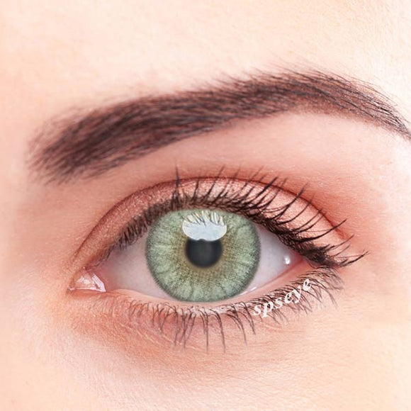 SPSeye Crystal Yellow-Green Colored Contact Lenses