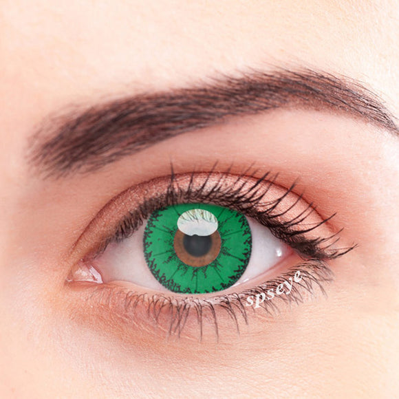 SPSeye Devil Green Colored Contact Lenses
