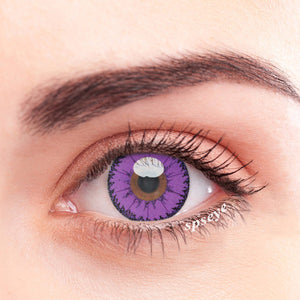 SPSeye Devil Purple Colored Contact Lenses