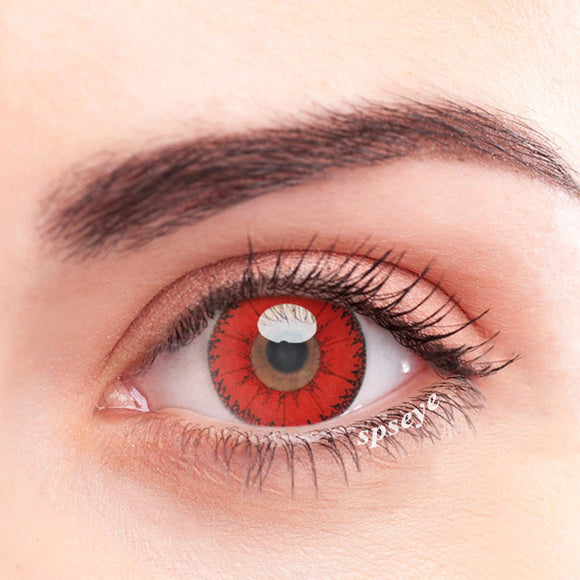 SPSeye Devil Red Colored Contact Lenses