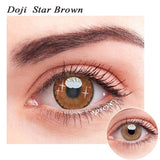 SPSeye Doji Star Brown Colored Contact Lenses