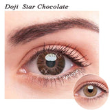 SPSeye Doji Star Chocolate Colored Contact Lenses